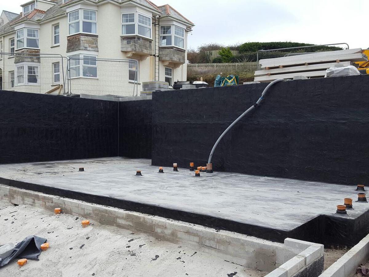 Asphalt Tanking & Basement Waterproofing | Heritage Asphalt